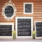 Chalkboard seating Chart. More ideas at blovelyevents.com