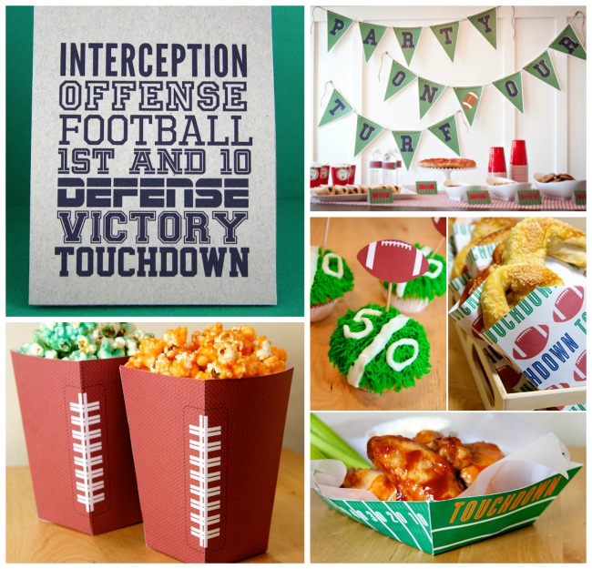 Free Super Bowl Printables You'll want At Your Next Party! - B. Lovely Events