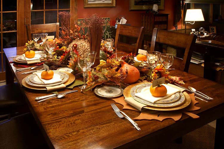 Gallery For gt Thanksgiving Tablescapes Pinterest