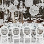 Winter Modern Tablescape