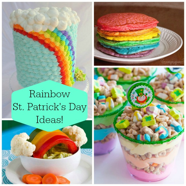 Rainbow St. Patirck's Day Ideas