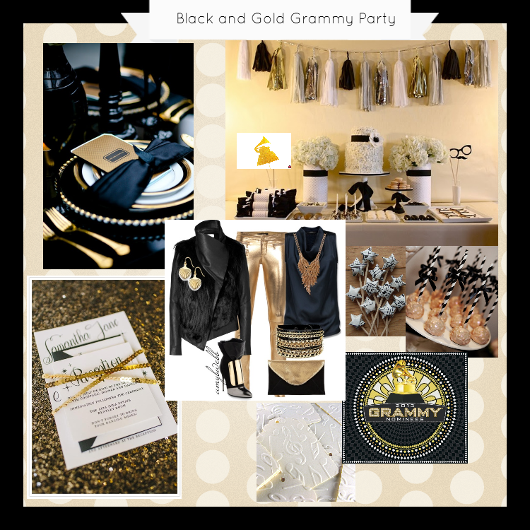 Grammy awards party ideas b lovely events for Awards decoration