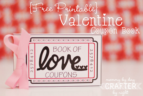 Free Printable Valentine Coupon Book