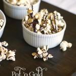 Chocolate drizzled popcorn-blovelyevents.com