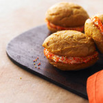 PumpkinSpicedWhoopiePies for basketball party, march madness
