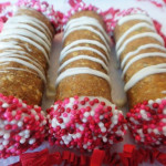 Valentine's Day Cannolis- 6 All Natural Dog Treats