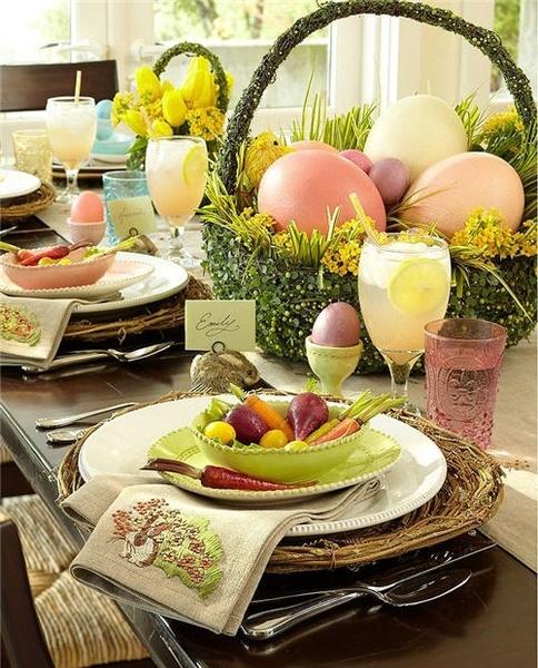 easter brunch table setting b lovely events