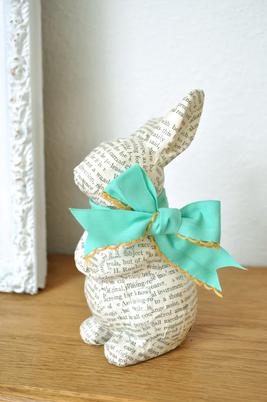 easter bunny decor project idea