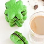 St. Patricks Day Macaroons