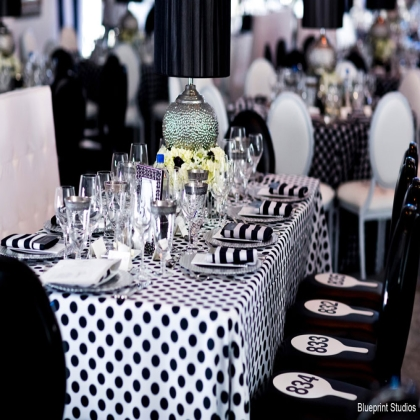 Black And White Party Decorations B Lovely Events