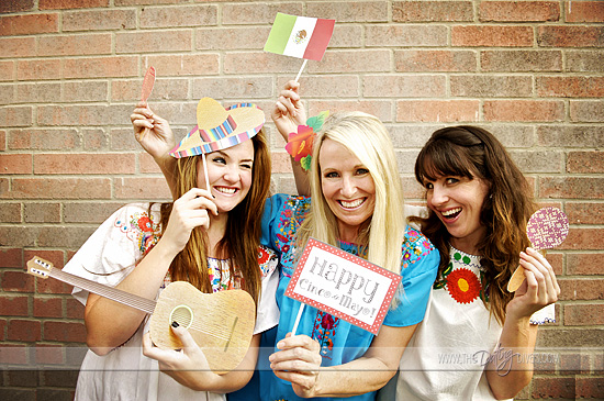 Cinco de mayo free photobooth printables
