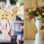 Derby Trophy White Centerpieces