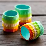 fringed fiesta napkin rings