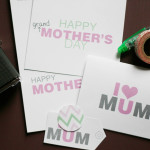 Happy Mother's Dat free printables