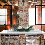 urban modern metallic tablescape