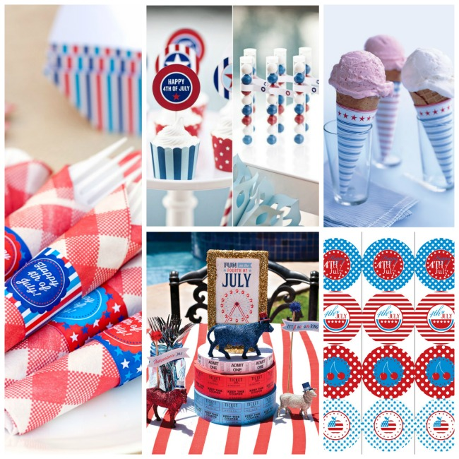 4th Of July free Printables!- B. Lovely Events
