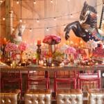 circus vintage  inspiring tablescape!