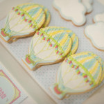 Hot Air Balloon cloud Cookies