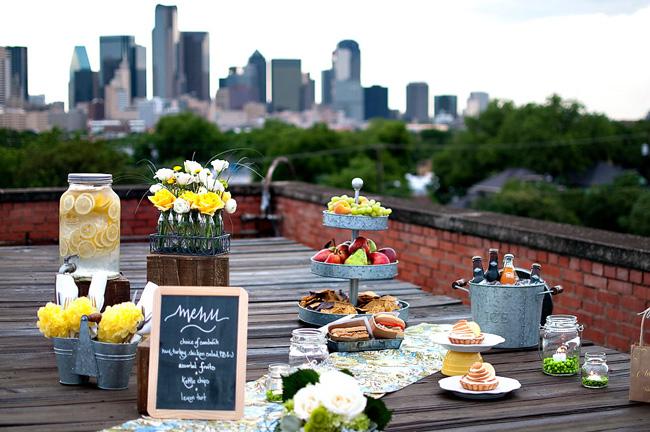 urban-rooftop-picnic-wedding-theme
