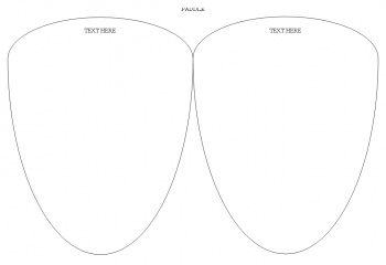 free wedding fan programs & free wedding fan templates in 4 different shapes (1)