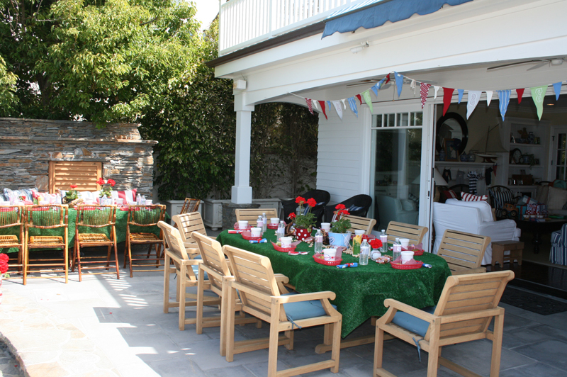 Outdoor Baseball Party Table B Lovely Events
