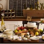 wine and cheese pairing dinner party