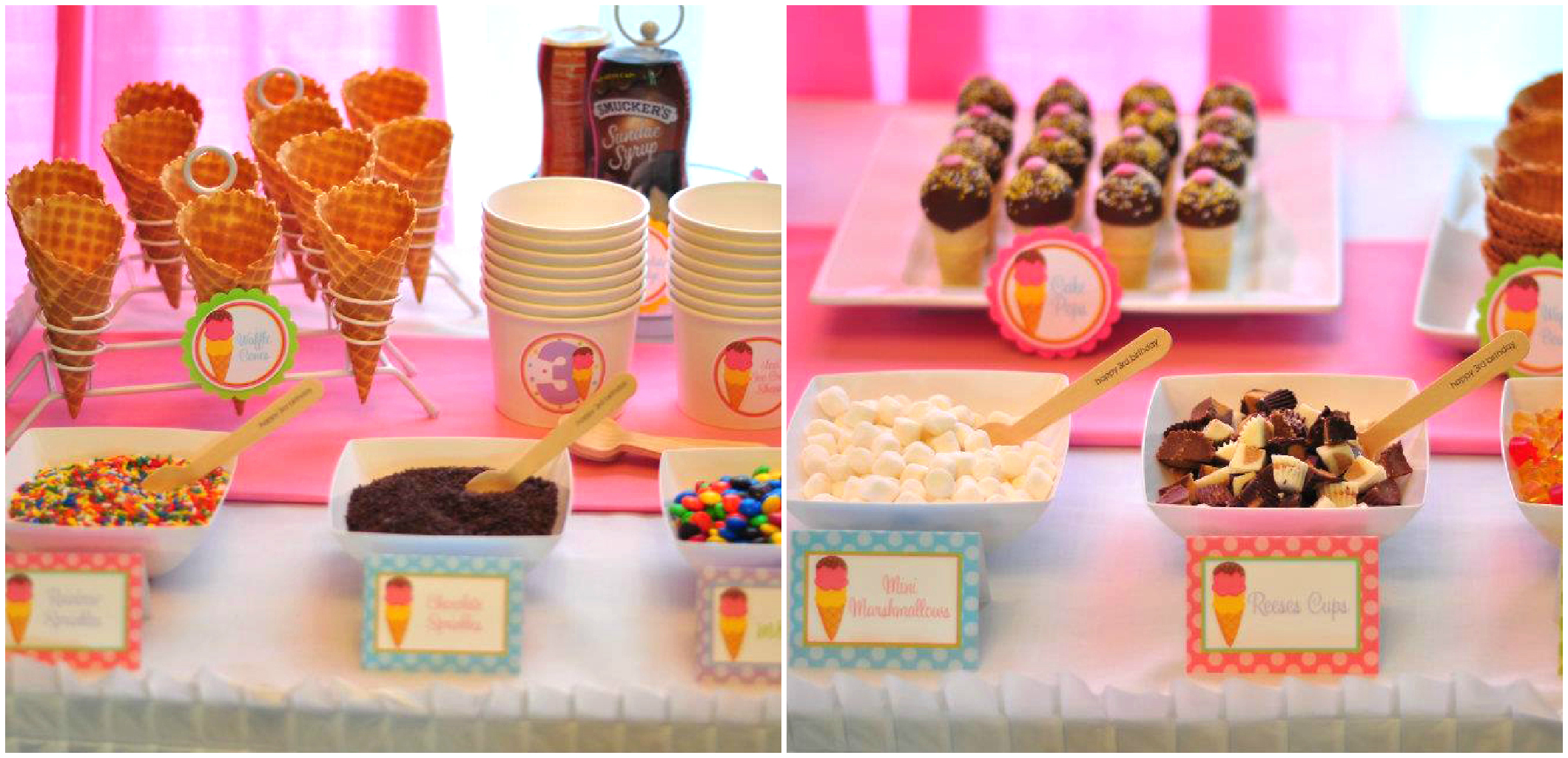 Amazing Ice Cream Party Display