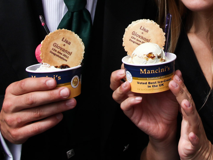 Custom Ice Cream for your wedding-awesome!