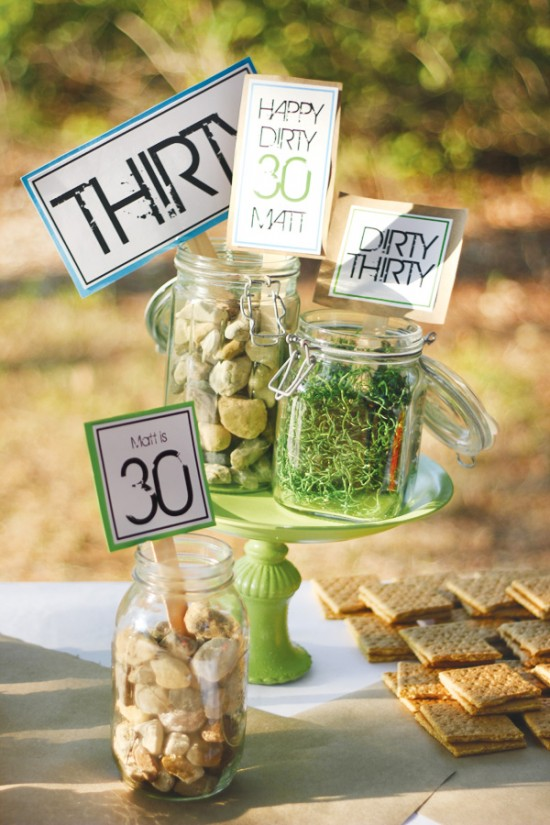 30th birthday party the dirty 30 b lovely events for 30 birthday decoration ideas