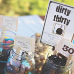 Dirty Thirty Treat Jars