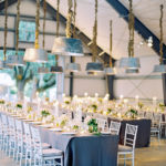 Rustic chic tablescape