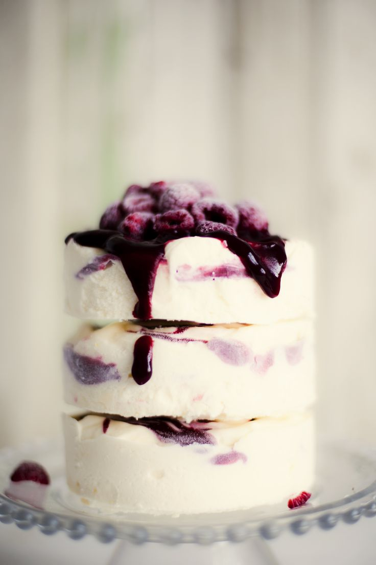 Wedding Ice Cream Cake-OMG How Lovely