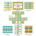 Back To School Free Printable Set!