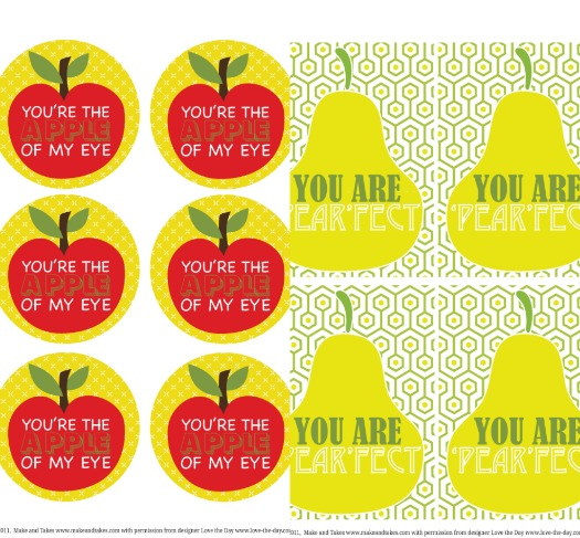 Free Back to School Printables Tags