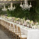 Rustic Vintage Chic wedding tablescape
