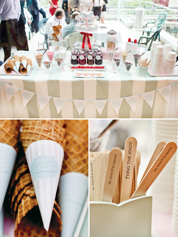 vintage ice cream parlor-this one is for an engagment party!