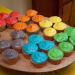 Art Party Cupcakes!