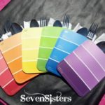 Art Party Paint Chip Napkin Holders