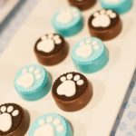 Chocolate paws for a Dog Birthday Party