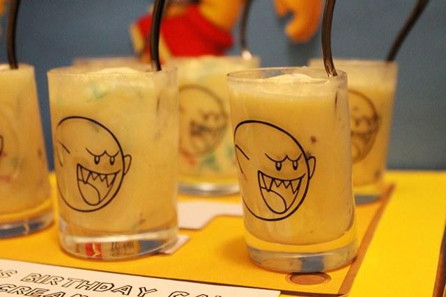 Mario Birthday Boo Ice Cream Shots-B. Lovely Events