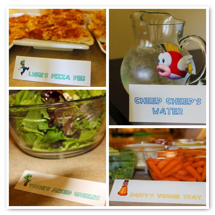 Mario Birthday Party Food and Drinks-B. Lovely Events