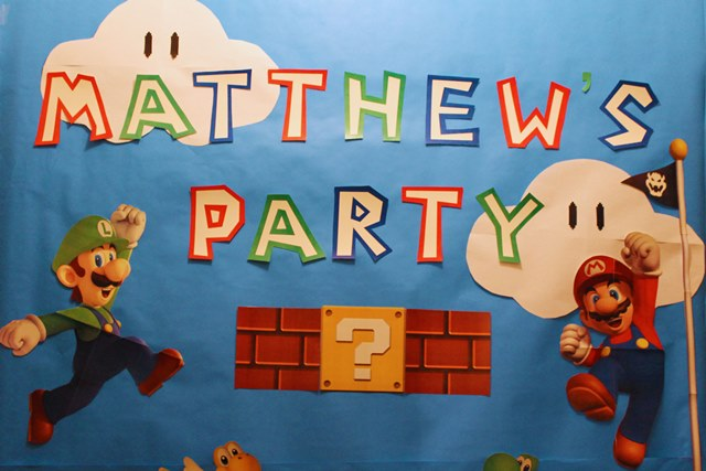 Mario Birthday Party-B. Lovely Events