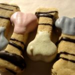 Mini Decorated Dog bone-perfect for their birthday!