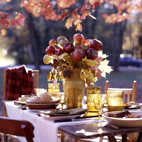 Fall decorating ideas with apples junglespirit