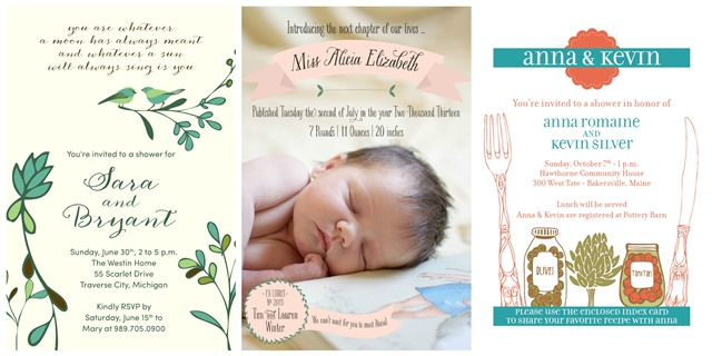 Small moments Giveaway with 25-50 invitations of your choice plus more!