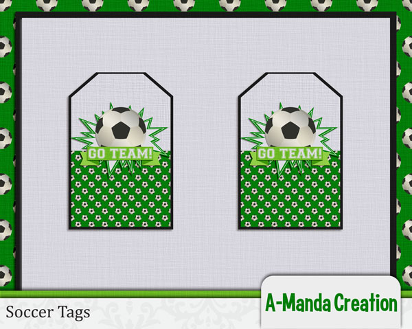 Soccer Party Free Printable Tags