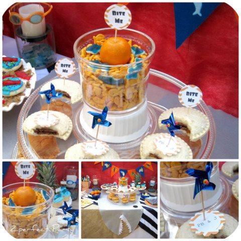 Super Cute Shark Party details!