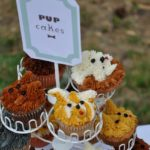 Super cute dog themed cupcakes