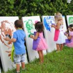 art kids party