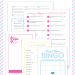 free baby shower printable games